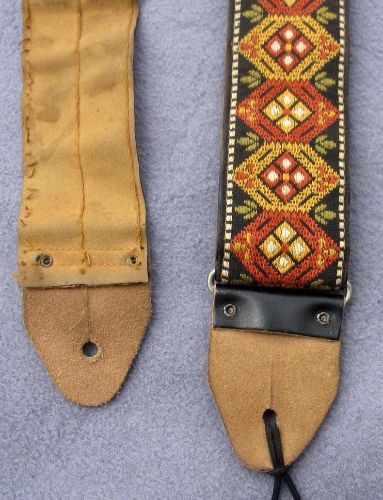 Ace guitar strap vintage