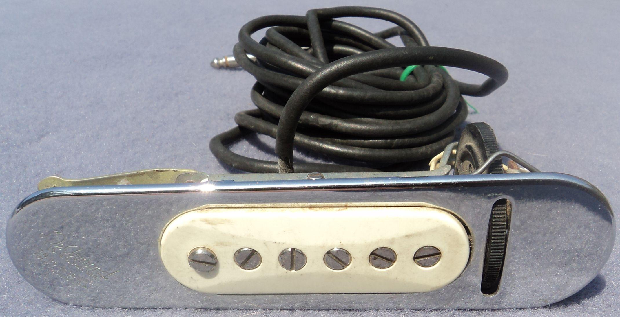 dearmond 210 acoustic guitar pickup vintage usa soundhole. Black Bedroom Furniture Sets. Home Design Ideas